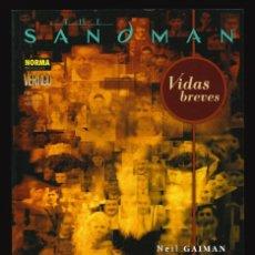 Comics: THE SANDMAN. VIDAS BREVES - NORMA / COLECCIÓN VÉRTIGO 281. Lote 243809445