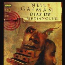 Comics: DÍAS DE MEDIANOCHE - NORMA / COLECCIÓN VÉRTIGO 166. Lote 243818950