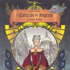 Cómics: BRIAN TALBOT. EL CORAZON DEL IMPERIO. 3 TOMOS. ASTIBERRI. 400 PAGINAS. Lote 244401445