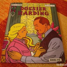 Cómics: DOSSIER HARDING RIVIERE FLOC´H NORMA TAPA DURA. Lote 244536155