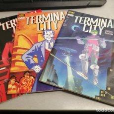 Cómics: TERMINAL CITY / COMPLETO 3 NÚMEROS / VÉRTIGO Nº 75, 79, 83 - NORMA EDITORIAL. Lote 244566730