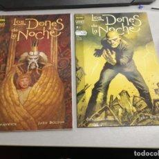 Cómics: LOS DONES DE LA NOCHE / COMPLETO 2 NÚMEROS / VÉRTIGO Nº 112 Y 116 - NORMA EDITORIAL. Lote 244569460