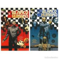 Cómics: BLANCO HUMANO COMPLETA 2 TOMOS - COL. VERTIGO Nº 134 Y 138 - NORMA - IMPECABLE - OFM15. Lote 244713930