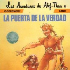 Cómics: LAS AVENTURAS DE ALEF-THAU 7 LA PUERTA DE LA VERDAD - NORMA - IMPECABLE - OFM15. Lote 244788930