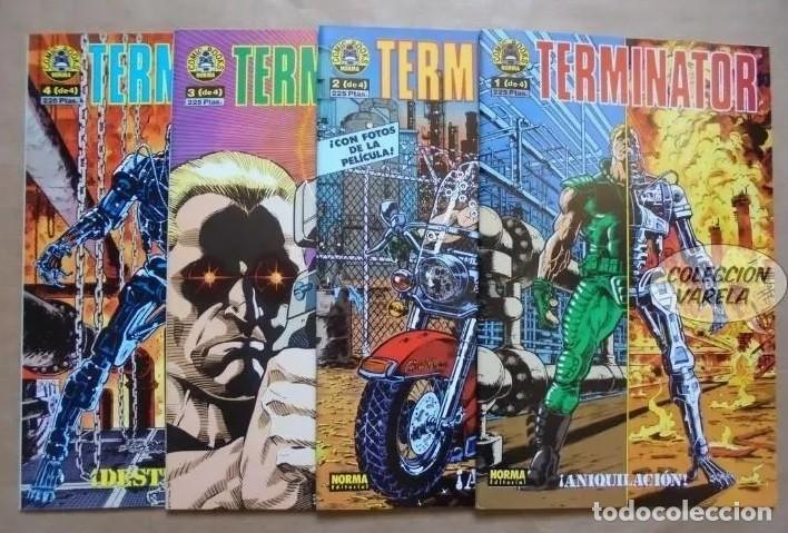 TERMINATOR EDITORIAL NORMA 1991 - 1 AL 4 COMPLETA (Tebeos y Comics - Norma - Comic USA)