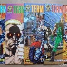Cómics: TERMINATOR EDITORIAL NORMA 1991 - 1 AL 4 COMPLETA. Lote 244801815