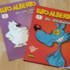 Cómics: LUPO ALBERTO. DE GUIDO SILVESTRI TOMOS 1 Y 2 NORMA. Lote 244830895