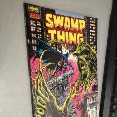 Cómics: SWAMP THING: TIERRA A LA TIERRA / ALAN MOORE / VÉRTIGO Nº 226 - NORMA EDITORIAL. Lote 245084540