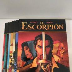 Cómics: EL ESCORPIÓN Nº 1 2 3 4 5 6 7 Y 8 LOS 8 PRIMEROS / DESBERG - MARINI / NORMA. Lote 245084735
