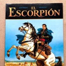 Fumetti: EL ESCORPIÓN Nº 5 / EL VALLE SAGRADO / DESBERG & MARINI / EXTRA COLOR 222 NORMA /. Lote 245103020