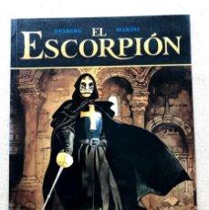 Fumetti: EL ESCORPIÓN Nº 6 / EL TESORO DEL TEMPLE / DESBERG & MARINI / EXTRA COLOR 232 NORMA /. Lote 245103890