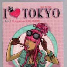 Cómics: I LOVE TOKYO. EL IMPERIO DE LAS QUEENS. RUSH 1. KAT & SAN. NORMA, 2010. Lote 245383900