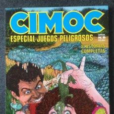 Cómics: CIMOC ESPECIAL Nº 8 - JUEGOS PELIGROSOS - 1ª EDICIÓN - NORMA - 1988 - ¡COMO NUEVO!. Lote 245634370