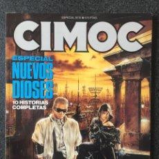 Cómics: CIMOC ESPECIAL Nº 10 - NUEVOS DIOSES - 1ª EDICIÓN - NORMA - 1990 - ¡MUY BUEN ESTADO!. Lote 245635750