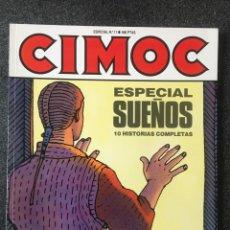 Cómics: CIMOC ESPECIAL Nº 11 - SUEÑOS - 1ª EDICIÓN - NORMA - 1991 - ¡NUEVO!. Lote 245636450