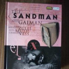 Cómics: THE SANDMAN VOLUMEN X; EL VELATORIO - NEIL GAIMAN / ZULLI / MUTH / VESS. Lote 245917870