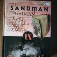 Cómics: THE SANDMAN VOLUMEN IX; LAS BENÉVOLAS - NEIL GAIMAN / HEMPEL / CASE / ISRAELI / KRISTIAN / DILLON /. Lote 245918090