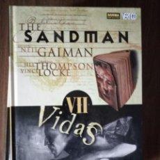 Cómics: THE SANDMAN VOLUMEN VII; VIDAS BREVES - NEIL GAIMAN / THOMPSON / LOCKE. Lote 245918510
