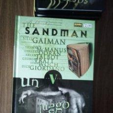 Cómics: THE SANDMAN VOLUMEN V; UN JUEGO DE TI - NEIL GAIMAN / MCMANUS / DORAN / TALBOT / PRATT / WOCH. Lote 245918985