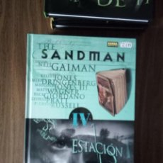Cómics: THE SANDMAN VOLUMEN IV; ESTACIÓN DE NIEBLAS - NEIL GAIMAN / JONES / DRINGENBERG / JONES III / WAGNER. Lote 245919150