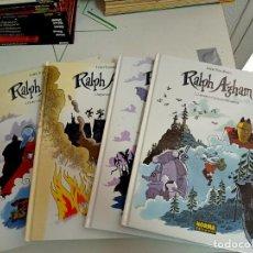Cómics: X RALPH AZHAN 1 A 4 (COMPLETA), DE LEWIS TRONDHEIM (NORMA). Lote 245921410