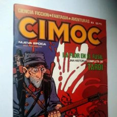 Cómics: CIMOC Nº 8, NUEVA ÉPOCA. NORMA, 1981.. Lote 246152255
