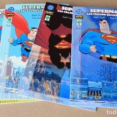 Cómics: SUPERMAN - LAS CUATRO ESTACIONES 1 2 3 4 - J. LOEB / T SALE - COMPLETA – NUEVO (PRECINTADOS). Lote 246454610