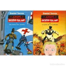 Cómics: EL ÁNGEL DE NOTRE-DAME. 2 COMICS - DANIEL TORRES DESCATALOGADO!!! OFERTA!!!. Lote 246491280