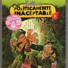 Fumetti: POLITICAMENTE INACEPTABLE COMPLETA 4 TOMOS (VUILLEMIN) NORMA - CARTONE - IMPECABLE - OFM15. Lote 246728700