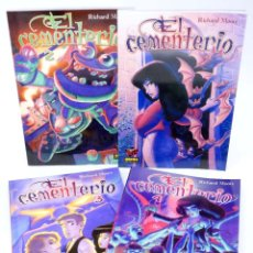 Cómics: MADE IN HELL 16 64 68 75. EL CEMENTERIO 1 A 4. COMPLETA (RICHARD MOORE) NORMA, 2006. OFRT ANTES 41E. Lote 266194598