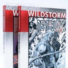 Cómics: ARCHIVOS WILDSTORM DEATHBLOW 01 Y 02. COMPLETA (JIM LEE / BRANDON CHOI / TIM SALE) NORMA, 2009. OFRT. Lote 248501955