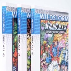 Cómics: ARCHIVOS WILDSTORM WILDCATS COVERT ACTION TEAMS 01 A 03 (VVAA) NORMA, 2009. OFRT ANTES 49,5E. Lote 246829190