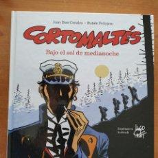 Cómics: CORTO MALTES. BAJO EL SOL DE MEDIANOCHE. JUAN DÍAZ CANALES. RUBÉN PELLEJERO. NORMA EDITORIAL.. Lote 247560640