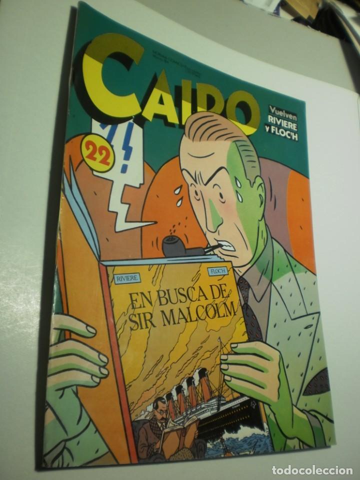 CAIRO Nº 22 EN BUSCA DE SIR MALCOLM (BUEN ESTADO) (Tebeos y Comics - Norma - Cairo)