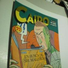 Cómics: CAIRO Nº 22 EN BUSCA DE SIR MALCOLM (BUEN ESTADO). Lote 247594325