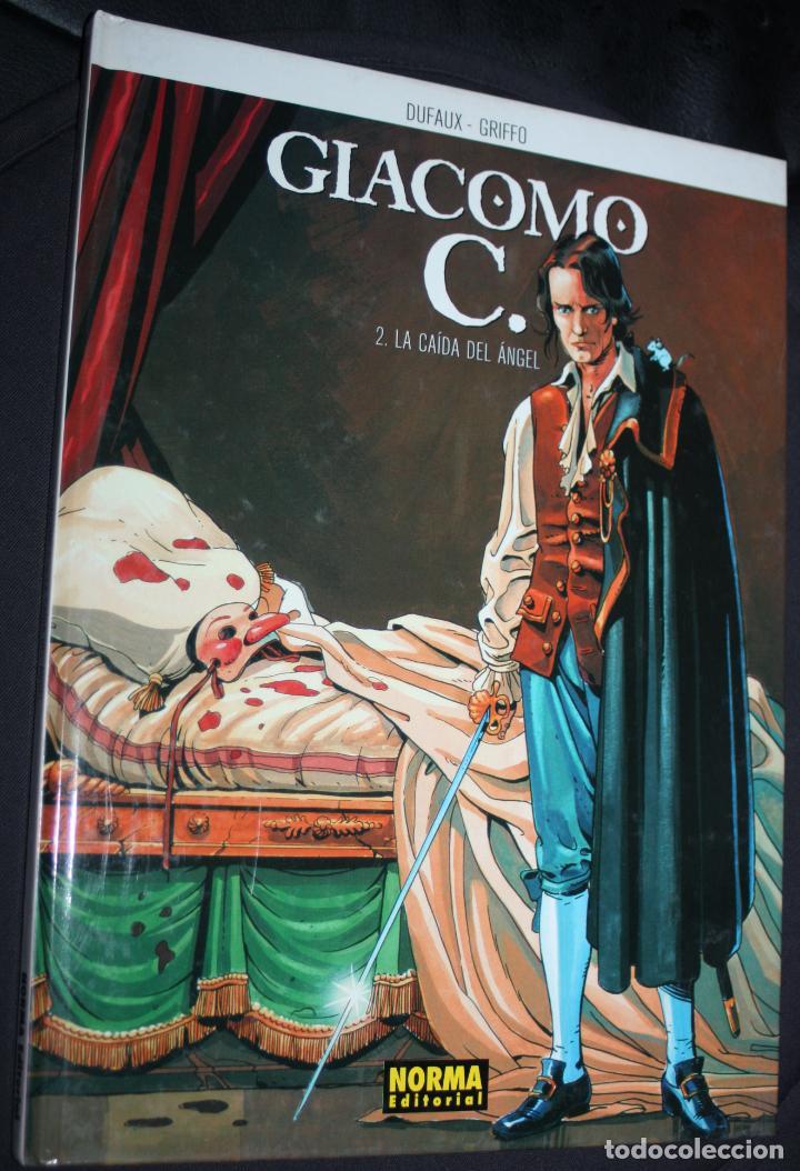 GIACOMO C. ( DE DUFAUX & GRIFFO) Nº2 : LA CAÍDA DEL ANGEL. (Tebeos y Comics - Norma - Comic Europeo)