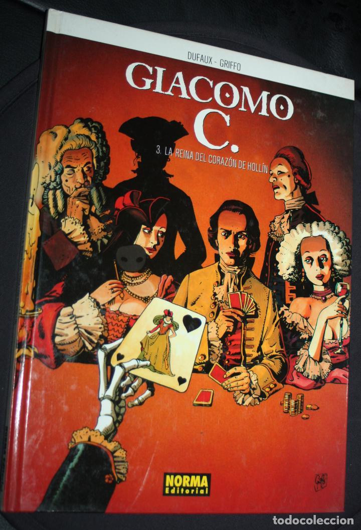GIACOMO C. ( DE DUFAUX & GRIFFO) Nº3 : LA REINA DEL CORAZÓN DE HOLLÍN (Tebeos y Comics - Norma - Comic Europeo)