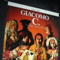 Cómics: GIACOMO C. ( DE DUFAUX & GRIFFO) Nº3 : LA REINA DEL CORAZÓN DE HOLLÍN. Lote 247799560