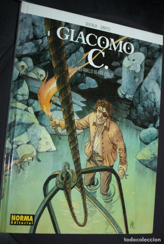 GIACOMO C. ( DE DUFAUX & GRIFFO) Nº6 : EL ANILLO DE LOS FOSCA (Tebeos y Comics - Norma - Comic Europeo)