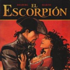 Cómics: EL ESCORPION 8: LA SOMBRA DEL ANGEL - DESBERG - MARINI - NORMA - 2009 - RUSTICA. Lote 247984700