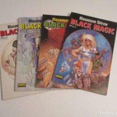 Cómics: BLACK MAGIC - MASAUME SHIROV - Nº 1, 2, 3 Y 4 - COMPLETA. Lote 248016475