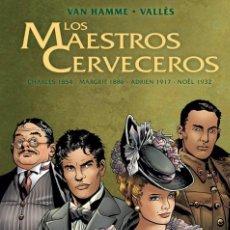 Cómics: MAESTROS CERVECEROS TAPA DURA. INTEGRAL 1 . 208 PAGINAS. EDICIONES B. Lote 248023530