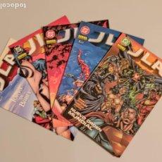 Comics: J L A NORMA EDITORIAL 5 EJEMPLARES. Lote 248176390