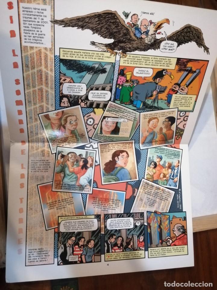 Cómics: SIN LAS SOMBRAS DE LAS TORRES. ART SPIEGELMAN. - Foto 9 - 248358360