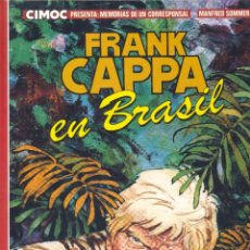 Cómics: FRANK CAPPA. EDITORIAL NORMA, 1983. MANFRED SOMMER. Lote 248974220