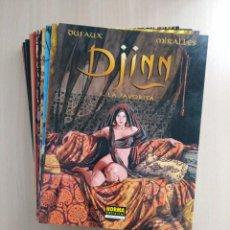 Cómics: DJINN /COMPLETA - 13 NÚMS. DUFAUX /MIRALLES. Lote 248988245