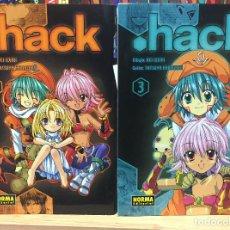 Cómics: HACK 3 Y 4 REI IZUMI TATSUYA HAMAZAKI. NORMA EDITORIAL. Lote 249512780
