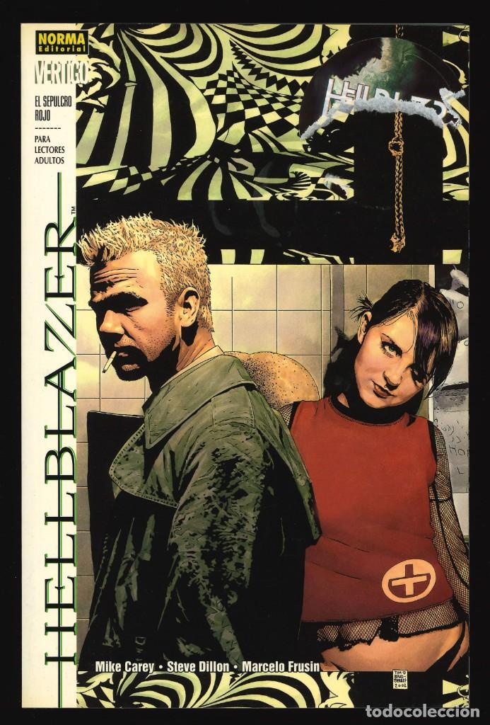 HELLBLAZER. EL SEPULCRO ROJO (VÉRTIGO) - NORMA (Tebeos y Comics - Norma - Comic USA)