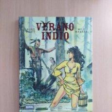 Cómics: VERANO INDIO. HUGO PRATT /MILO MANARA. Lote 251849030