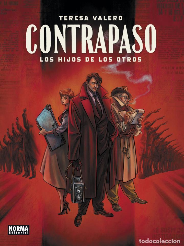 CÓMICS. CONTRAPASO. LOS HIJOS DE LOS OTROS - TERESA VALERO (CARTONÉ) (Tebeos y Comics - Norma - Comic Europeo)